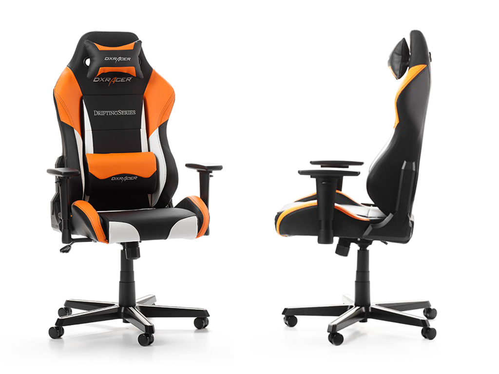 Dxracer Racing Series Oh Rv131 No Black Orange 4 Rz32 Wnb